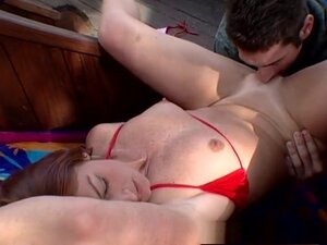 Hottest pornstar Melissa Pink in best outdoor,