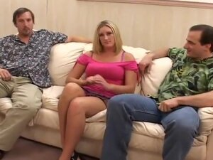 Chunky Pamela Killman's First DP Fucking,