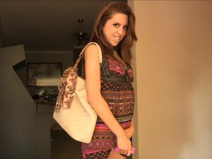 Mouthwatering Lola Ardently Masturbates In A
