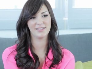 Dark haired Holly Michaels got pounded