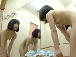 Ballet changing room spy cam reveals some naughty