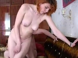 Russian village mom and young lover 1