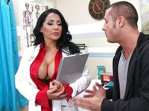 HOT & horny doctor takes a work break to ride