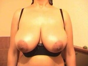 Slapping big boobs