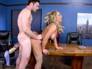 Horny fuck expert Olivia shows how to do it in the
