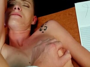 Doctor fucks sexy tattooed patient in fake