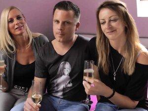 Amateur Busty Threesome