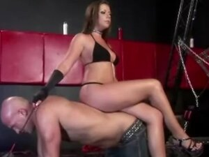 Male slaves getting rewarded and punished