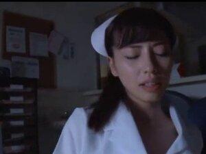 Japanese nurse white pantyhose fetish sex