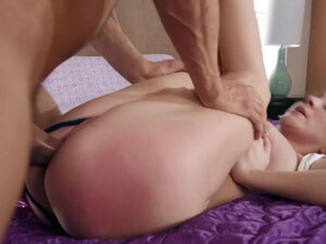 Super hot big tits blonde is fucked