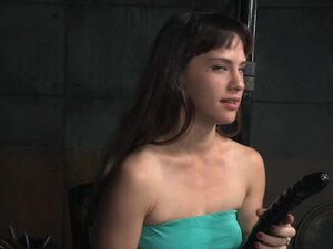 BDSM submissive gagging hard on masters cock, BDSM