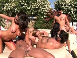 Brazzers LIVE Pool Party - NEXT Show is 04-30-13