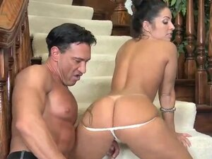 Marco Banderas plays with pussy and asshole of