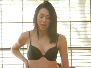 NubileFilms Video: Pleased, Beautiful brunette