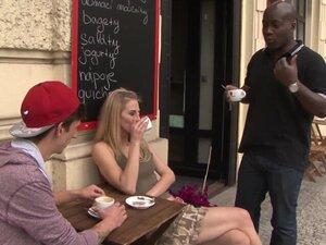 cuckold watching as slut wife gets interracial