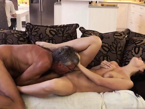 Shy young girl old man What would you prefer -