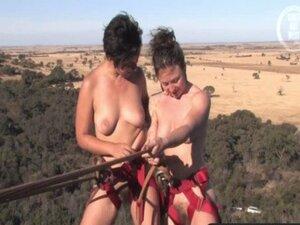 Girls Out West &ndash  Hairy amateur lesbians