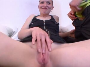 Group sex video with professional euro pussy