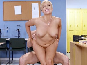 Busty Ryan Keely riding Johnny Sins in the