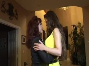 Lesbian MILFS June Summers and Sexy Vanessa,