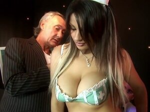 Crazy pornstar Katie Kaliana in horny blowjob,