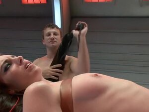 Riley Shy returns to be dominated, Riley Shy
