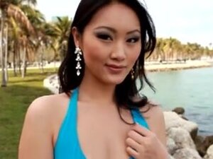 Bewitching Oriental Playgirl Receives A BC, A sexy