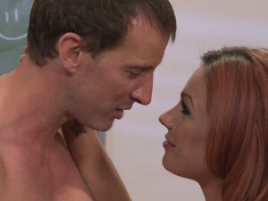 Red haired horny witch Kirsten Price gets her