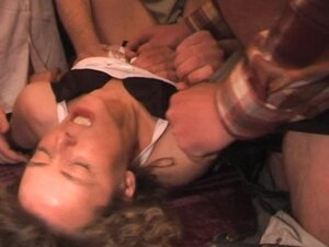 Mature wife gets fucked by ob over 15 guys at the