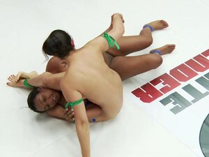 Milf Penny Barber Does An Erotic Wrestling Match
