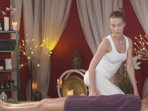 Massage Rooms Stunning blonde lesbian has big