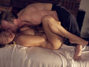 Erotic, mutual massage ends with the couple