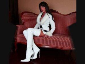 DOMINA in leather  in pvc  in latex