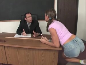 Bad Beauty Seduces Her Teacher, This hotty is