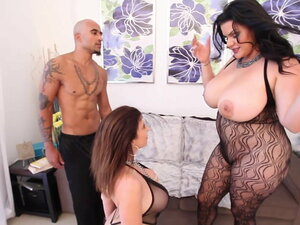 Thick Cuban Angelina Castro & King Noire Fuck Milf
