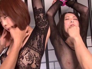 Horny Japanese chick in Hottest BDSM, Group Sex
