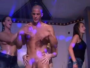 Filthy hot sex partying