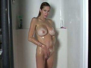 Shower, Filmed Her Taking A Quick Shower