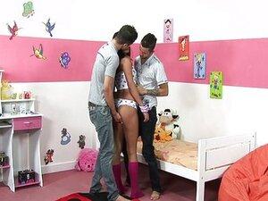 Alexander Felix, Erick Leony and Bianca Lopes