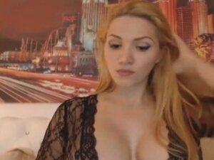 Big Tits Babe Fucked Herself With Her Dildo And
