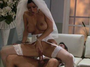 Big tits bride Dylan Ryder fucked