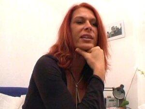 German redhead masturbates - Sascha Production
