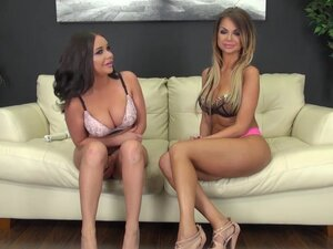 Hottest pornstars Nikki Nine, Rachele Richey in