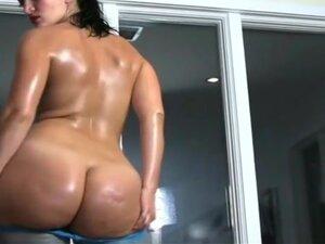 Horny homemade Big Butt, Striptease sex video
