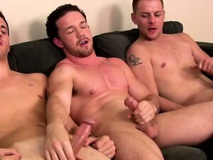 Straight amateurs jerking each other
