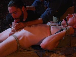 Damien Moreau in New Camper Gets Edged At Camp
