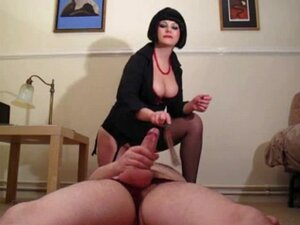 Mistress Polly Punishes Sissy Slave and makes him