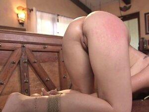 Busty slave got ass rough fucked