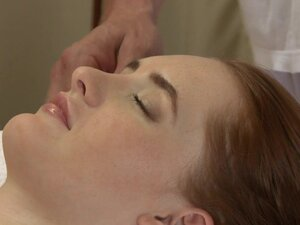 Massage Rooms Young blonde and red head get deep