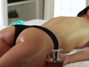 Massage Rooms Big Boobs beauty has multiple orgasm